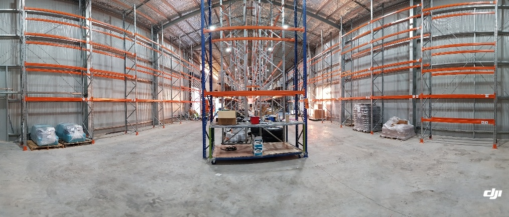 New Racking Pano